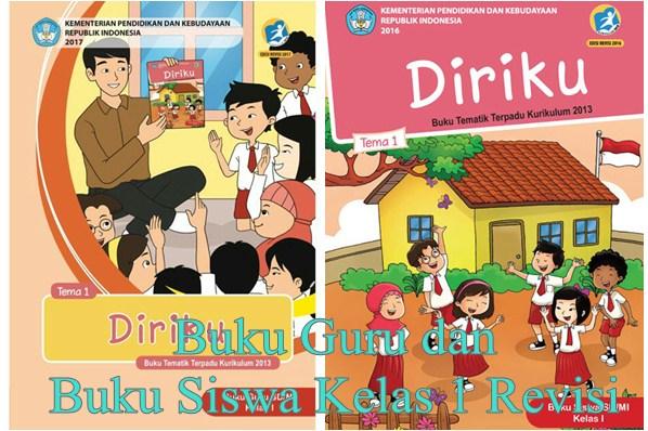 Buku Guru dan Buku Siswa SD Kelas 1 K13