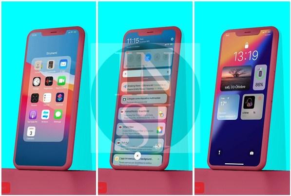 Tampilan Tema IOS 14 New Xiaomi MIUI 12 Fix