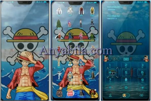 Tampilan Theme Tema One Piece For Vivo Itz Terbaru