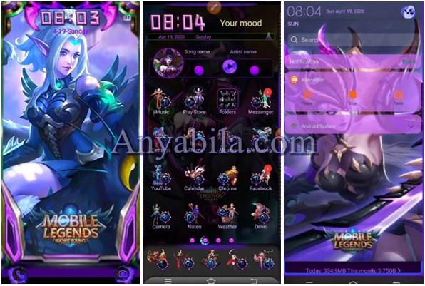 tampilan theme Mobile Legend Vivo