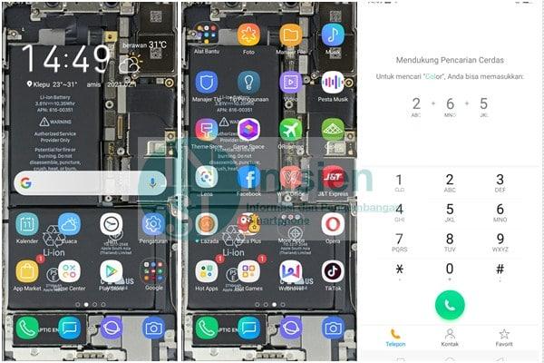 Tampilan Samsung S9 Oppo