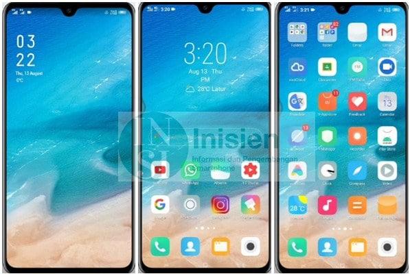 Tampilan Tema Xiaomi For Vivo
