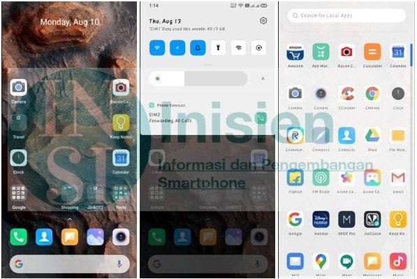 Tampilan Xiaomi For Realme