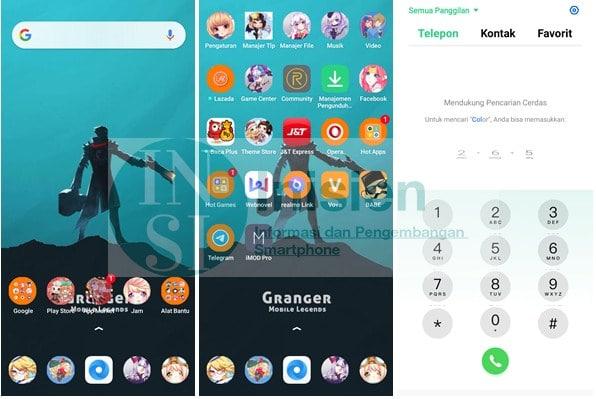 Tampillan Theme Mobile Legend Realme