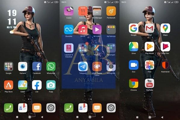 Tampilan Game PUBG Xiaomi