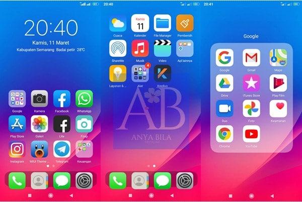 Tampilan Iphone 14 Xiaomi