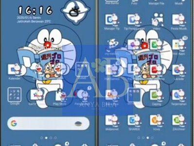Tema Doraemon Untuk Oppo Theme Terbaru 2021