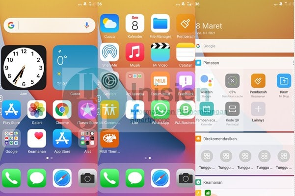 Tema IOS 14x Pro Xiaomi