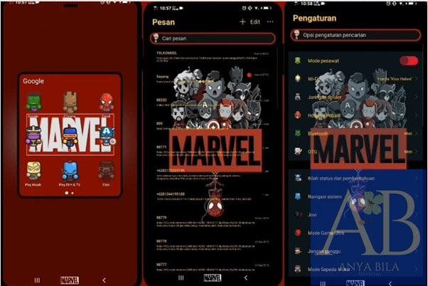 Tema Marvel Vivo itz