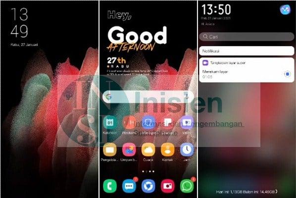 Thema Samsung S21 for Vivo
