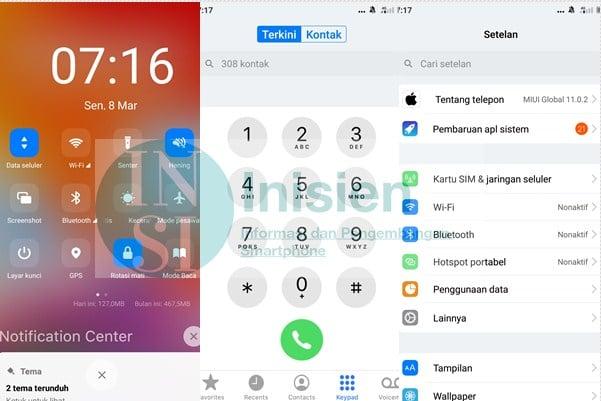 Theme IOS 13x Pro untuk Xiaomi
