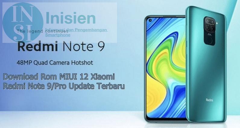 MIUI 12 Redmi Note 9 Pro