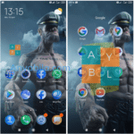Tema Xiaomi Popeye mtz Untuk MIUI 12 Terbaru